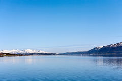 Tromso fjord Royalty Free Stock Images