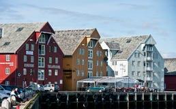 Tromso harbour, Norway Royalty Free Stock Image