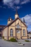 Tromso Kirche Lizenzfreies Stockfoto