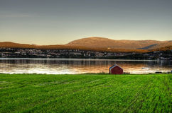 Tromso Landscape Royalty Free Stock Images