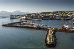 Tromso marina Royalty Free Stock Images