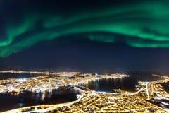 Tromso in Nord-Norwegen lizenzfreie stockfotografie