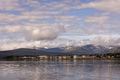 Tromso, Northern Norway. Tromso - a city in northern Norway Royalty Free Stock Photo