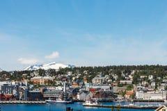 Tromso, Norvegia Fotografia Stock