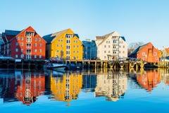 Tromso in Norvegia del Nord Fotografia Stock