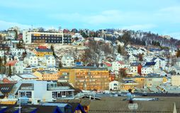 Tromso Norway Cityscape Royalty Free Stock Photography