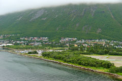 Tromso in summer, Norway Stock Photo