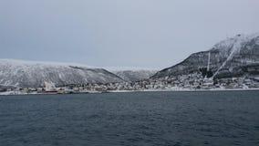 Tromso in winter Royalty Free Stock Photo