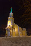 Tromsoe Cathedral Royalty Free Stock Photos