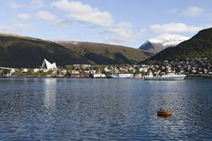 Tromsoe panorama Royalty Free Stock Photography