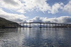 Tromsoe's bridge Royalty Free Stock Image