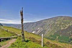 tronçon de montagnes Image libre de droits