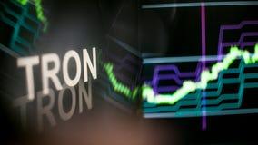 TRON Cryptocurrency ?eton r r zdjęcie royalty free