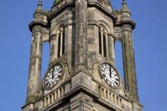 Tron Kirk Church Tower, Royal Mile Street; Edinburgh. Scotland Royalty Free Stock Images