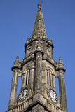 Tron Kirk Church Tower, Royal Mile Street; Edinburgh. Scotland Stock Photos