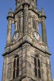 Tron Kirk Church Tower, rua real da milha; Edimburgo foto de stock royalty free