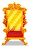 Tron robić złoto royalty ilustracja
