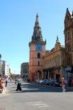 Tron Theater und Argyle Straße, Glasgow Lizenzfreies Stockfoto