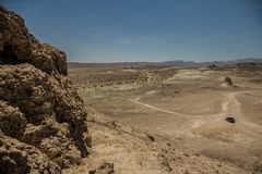 Trona Pinaccles, National Parks, California royalty free stock images