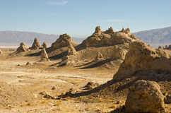 Trona Pinnacles Stock Photo