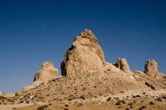 Trona Pinnacles Royalty Free Stock Images