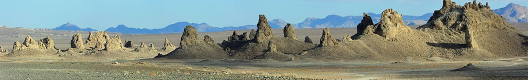 Trona Pinnacles, Trona California Stock Photos