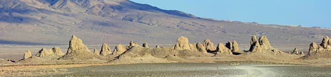 Trona Pinnacles, Trona Pinnacles, Trona California Stock Images