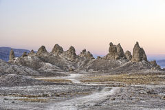 Trona Pinnacles Stock Images