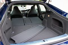 Tronco 2014 del cabriolet S5 e S5 di Audi immagini stock