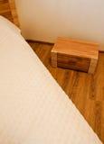 Tronco del lato del letto Fotografie Stock Libere da Diritti