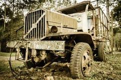 Tronco oxidado velho Imagens de Stock