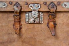 Tronco que viaja viejo imagen de archivo libre de regalías