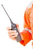 Tronco radiofonico sul fondo dell'isolato Immagine Stock Libera da Diritti