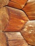 Troncos de árvore do Blockhouse Imagens de Stock