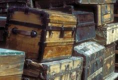 Troncos de madera viejos Fotos de archivo libres de regalías