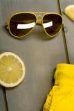 Troncos de nadada amarelos, Fotografia de Stock Royalty Free