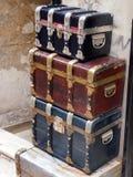 Troncos do armazenamento Fotografia de Stock Royalty Free