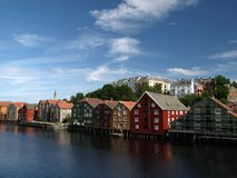 Trondheim Photographie stock