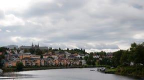 Trondheim. City scene in city of Trondheim, Norway Stock Photo
