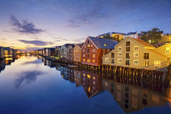 trondheim Photo stock
