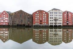 Trondheim в Норвегии Стоковое Изображение