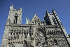 Trondheim cathedral, Norway Royalty Free Stock Photography