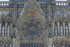 Trondheim Cathedral stained window Royalty Free Stock Photography