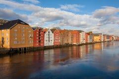 Trondheim cityscape Norway Stock Image