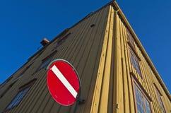 Trondheim, historic warehouse Royalty Free Stock Photo
