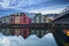 Trondheim. Royalty Free Stock Photography