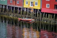 Trondheim, Noorwegen Stock Afbeelding