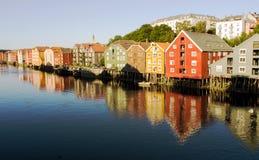 Trondheim Noorwegen royalty-vrije stock afbeelding