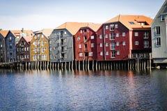 Trondheim, Noorwegen royalty-vrije stock foto