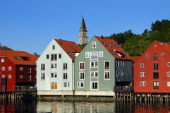 Trondheim in Norway Stock Image